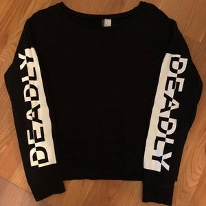 H&M Deadly Long Sleeve Shirt/Sweater
